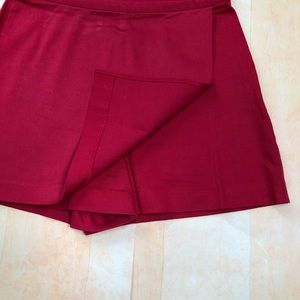 Boston Proper Shorts - 🌹Boston Proper Red Skort